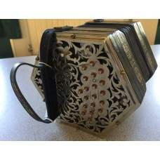 Jeffries 38 Button GC Anglo Concertina