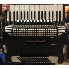 Excelsior 37 Key 96 Bass 4 Voice Piano Accordion