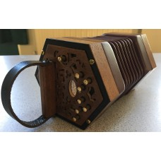 Andrew Norman 13 key minature Anglo Concertina in G