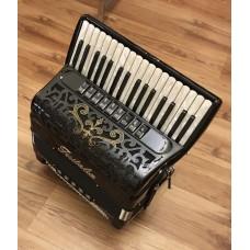 Fisitalia 34 Key 4 voice right hand 5 voice left hand Piano Accordion with Cassotto