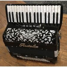 Fisitalia 34 Key 3 voice right hand 4 voice left hand Piano Accordion