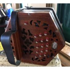 Lachenal 30 Key Lightwood CG Anglo Concertina