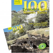 100 Evergreen Irish Session Tunes Book and CD Together Package