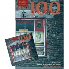 100 Irish Polkas Book and Soundtrack CD Together Package by Dave Mallinson