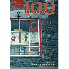 100 Irish Polkas Book Only by Dave Mallinson