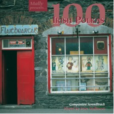 100 Irish Polkas Soundtrack CD by Dave Mallinson