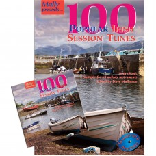 100 Popular Irish Session Tunes Book and CD together in one Package.