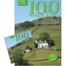 100 Vital Irish Session Tunes Book and CD Together Package by Dave Mallinson