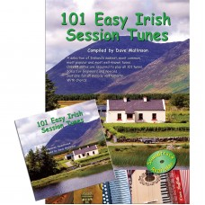 101 Easy Irish Session Tunes Book and CD Together
