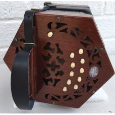 20 Key CG Anglo Concertina Perfect for a beginner