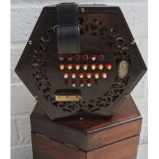 Lachenal 48 Button English Concertina Tutor Model