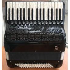 F Balloni Burini Light 374 P 4 voice 96 bass Piano Accordion