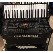 Crucianelli 34 Key 72 Bass 4 Voice Piano Accordion USED