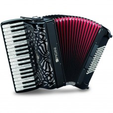 Pigini Piano Accordion P36/3 72 bass 3 voice with 5 treble and 2 bass register