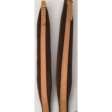 Melodeon Shoulder Straps Made in Italy (78) America-R Width: 45 mm Tan and Brown